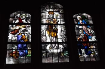 Glas in lood in Mariakapel Handel